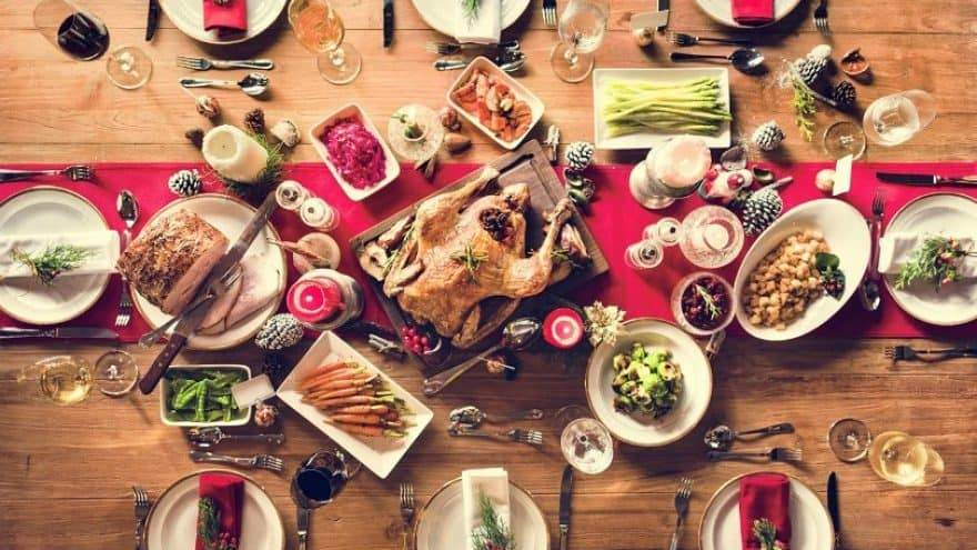 Christmas Dinner and Meal in Malta