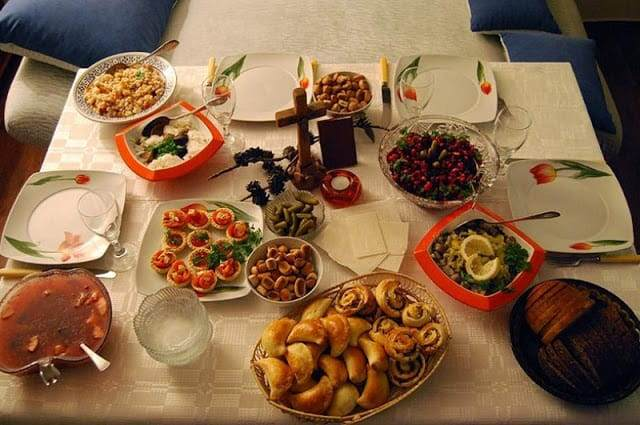 Christmas Food in Lithuania