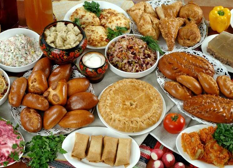 Christmas Food in Russia
