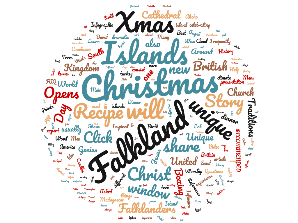 Christmas in the Falkland Islands