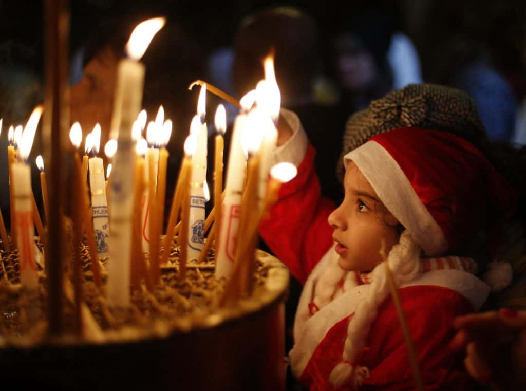 Festivities of Christmas Day in Serbia