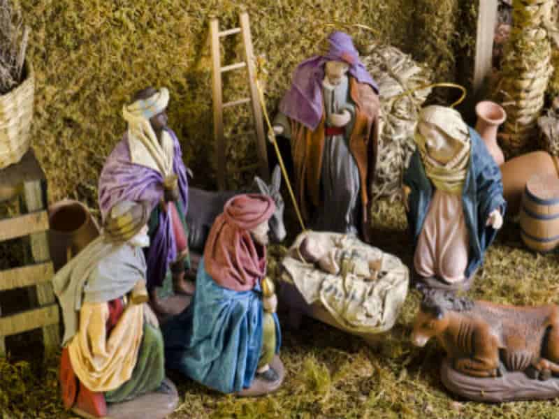 Friends of the Crib on Christmas