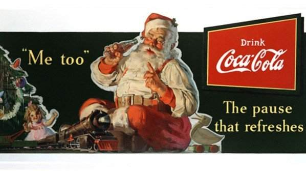 Santa Claus and Coca-Cola