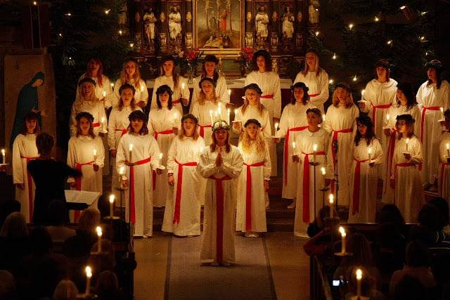 St Lucia's Day Sweden