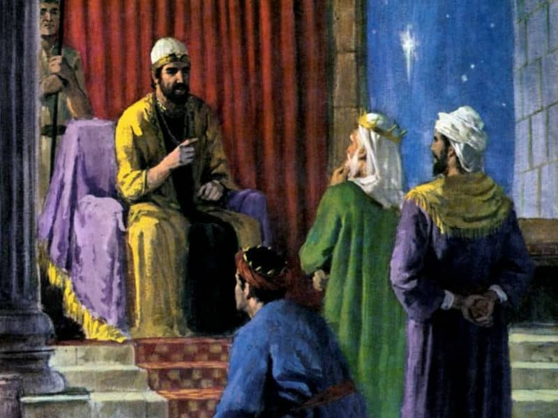 wisemen ordered by herod